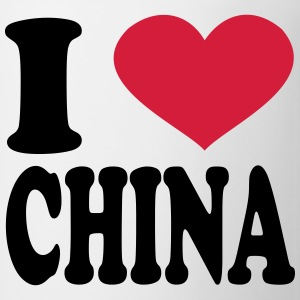 I Love China T-Shirts - Coffee/Tea Mug