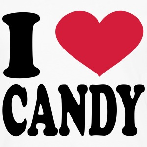 I Love Candy T-Shirts - Men's Premium Long Sleeve T-Shirt