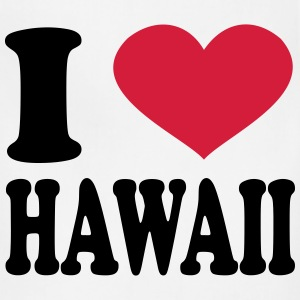 I Love Hawaii T-Shirts - Adjustable Apron