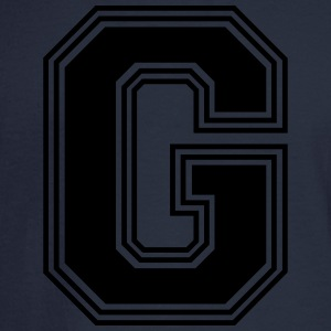 G_Letter_G_(w31) Women's T-Shirts - Men's Long Sleeve T-Shirt