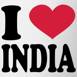 I Love India T-Shirts - Coffee/Tea Mug