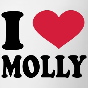 I Love Molly T-Shirts - Coffee/Tea Mug