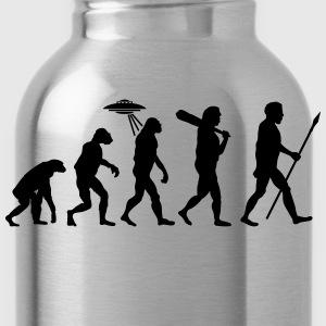 Alien Evolution (1 Color) T-Shirts - Water Bottle