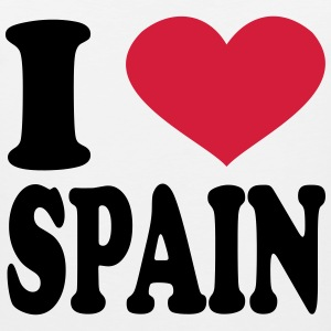 I Love spain T-Shirts - Men's Premium Tank