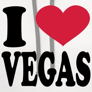 i love vegas T-Shirts - Contrast Hoodie