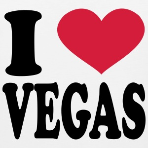 i love vegas T-Shirts - Men's Premium Tank