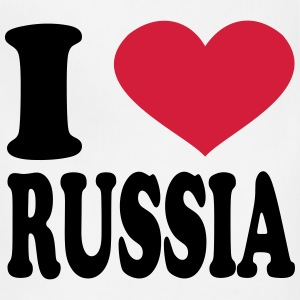 I Love russia T-Shirts - Adjustable Apron