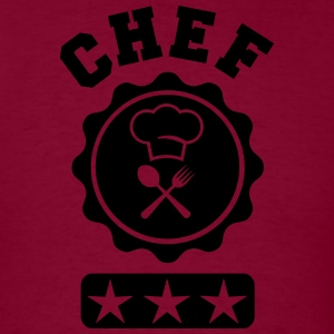 Chef University Hoodies - Men's T-Shirt