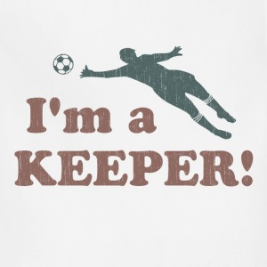 I'm a Keeper Soccer Goalie Women's T-Shirts - Adjustable Apron