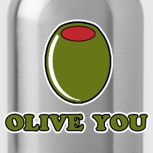 Olive You T-Shirts - Water Bottle