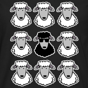 Black Sheep Women's T-Shirts - Men's Premium Long Sleeve T-Shirt