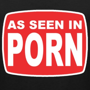 As Seen in Porn T-Shirts - Men's Premium Tank