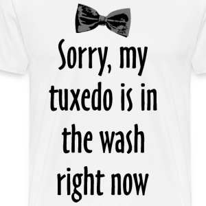 Tuxedo Wash Tank Top - Men's Premium T-Shirt