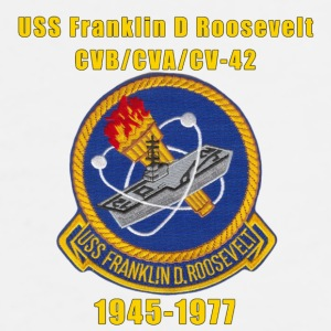 USS Franklin D Roosevelt CV-42 Coffee Cup - Men's Premium T-Shirt
