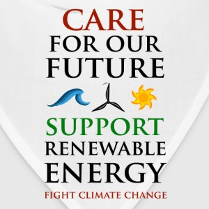 Care For Our Future T-Shirts - Bandana