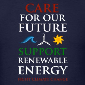 Care For Our Future  Hoodies - Men's T-Shirt