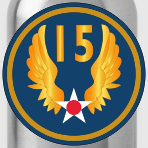 15th Air Force - Water Bottle