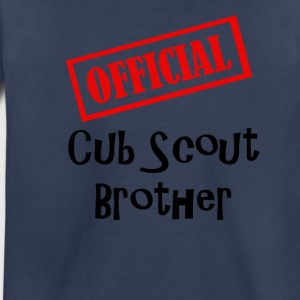 Official Cub Scout Brother Shirt - Toddler Premium T-Shirt