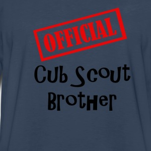 Official Cub Scout Brother Shirt - Men's Premium Long Sleeve T-Shirt