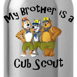 Girl's My Brother is a Cub Scout Shirt - Water Bottle