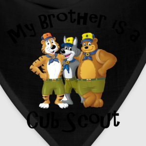 Boy's My Brother is a Cub Scout Shirt - Bandana