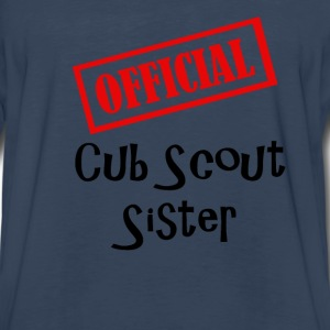 Official Cub Scout Brother Sibling Shirt - Men's Premium Long Sleeve T-Shirt