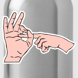 Finger Sex T-Shirts - Water Bottle