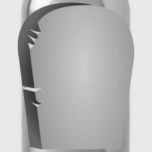 Rounded Tombstone - Water Bottle