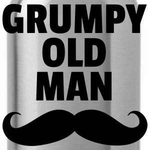 Grumpy Old Man T-Shirts - Water Bottle