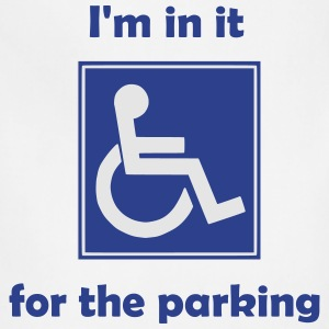 Disabled for the parking - Adjustable Apron