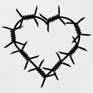 Barbed Wire Heart Shirt - Bandana