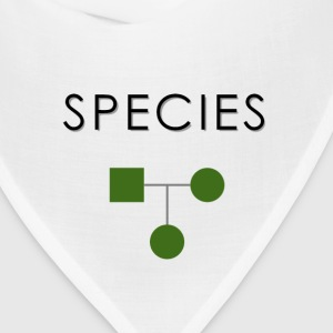 Minimalist design: species T-Shirts - Bandana