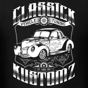 Classick Kustomz (white) Hoodies - Men's T-Shirt