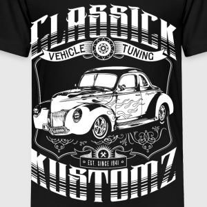 Classick Kustomz (white) Kids' Shirts - Toddler Premium T-Shirt