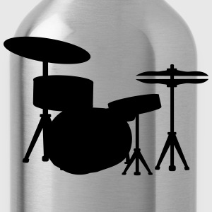 Drums Drummer Sweatshirts - Water Bottle