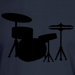 Drums Drummer T-Shirts - Men's Long Sleeve T-Shirt