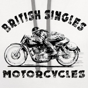 british motorcycles T-Shirts - Contrast Hoodie