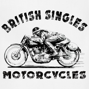 british motorcycles T-Shirts - Adjustable Apron