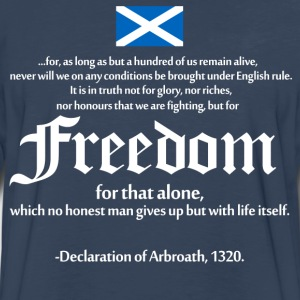 Declaration of Arbroath T-Shirts - Men's Premium Long Sleeve T-Shirt