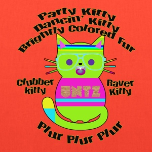 Raver Kitty T-Shirts - Tote Bag