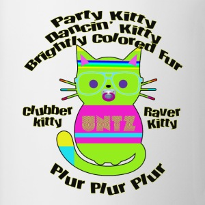 Raver Kitty Tanks - Coffee/Tea Mug