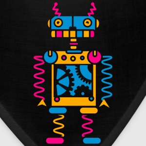 A robot with gear wheels Baby & Toddler Shirts - Bandana