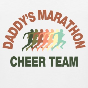 marathon cheer team Kids' Shirts - Men's Premium Tank