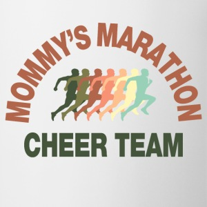 marathon cheer team Kids' Shirts - Coffee/Tea Mug