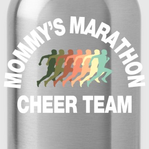 marathon cheer team Kids' Shirts - Water Bottle