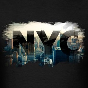 nyc new york city skyline Hoodies - Men's T-Shirt