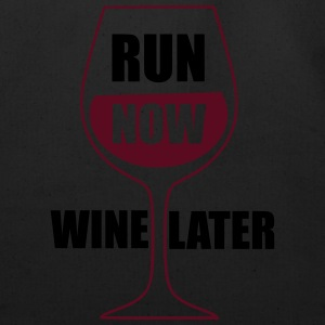 Run Now Wine Later Tanks - Eco-Friendly Cotton Tote