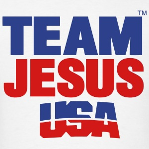 TEAM JESUS USA - Men's T-Shirt