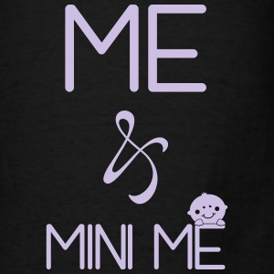 Me and mini me Tanks - Men's T-Shirt