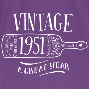 1951 Vintage Birthday - Men's Premium T-Shirt